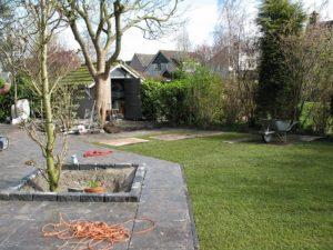 Voorbeeld van onze tuinrenovatie